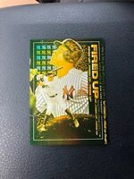2019 Topps Fire Gold Minted Fired Up AARON JUDGE
