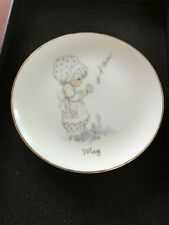 "Precious Moments ""May� Plate 6 1/2 Inches"
