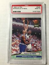 1992 Fleer Ultra Shaquille O'Neal PSA Mint 9 Rookie Card RC