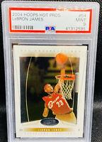 2004-05 LeBron James Hoops Hot Prospects #54 PSA 9 MINT Low Pop !!