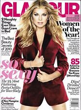 Glamour magazine Fergie Party outfits Women of the year Best beauty secret tips