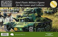 BRITISH A9/A10 CRUISER TANK - PLASTIC SOLDIER COMPANY 15MM WW2 FLAMES OF WAR NEW