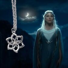 New Lord of the Rings Galadriel Nenya Water Necklace