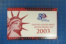 2003 UNITED STATES MINT SILVER PROOF SET