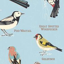 dotcomgiftshop 5 SHEETS OF WRAPPING PAPER GARDEN BIRDS DESIGN GIFT WRAP