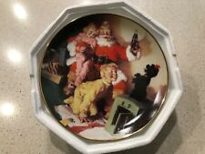 """A Toast To the Season"" Coca-Cola Collector Plate from the Franklin Mint 1995"
