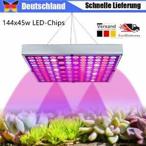 Wachstumslampe Pflanzenlampe Pflanzenleuchte LED 45W Vollspektrum Grow Licht DHL