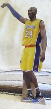 "Kobe Bryant LA Lakers Basketball Figure Tabletop Display Standee 10 1/2"" Tall"