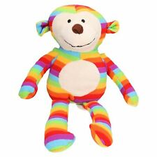 Rainbow Sonny Monkey Dog Toy Cuddle Toy With Squeak 38cm/15""