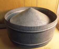 Galvanized 6� Gravity Globe Roof Vent (Nos)