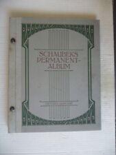"""""""Sehr Altes Briefmarken-Vordruck-Album"""" (Schaubek), uralt,ansehen"""