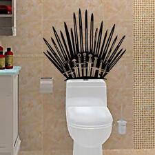 Iron Throne GAME OF THRONES Vinyl Decal TOILET WALL STICKER Home Decor Wrap Hot