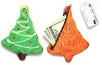Yummy Pockets Christmas Tree Coin Bag Wallet Purse Zipper Pocket Organizer DCI