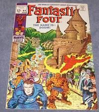 FANTASTIC FOUR #84 FN+ (6.5) - 12¢ cover Marvel Comic - Nice!