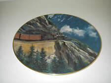 Collector PLATE Christian Bell Porcelain Age of Steam White Pass Ted Xaras COA