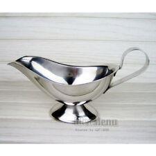 Stainless Steel 80ml(3 oz) Gravy Boat Juice bucket Dish Roasting Sauce dish 315