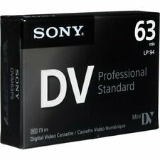 Sony Dvm63Ps MiniDv 63min Professional Standard - 5 Pack
