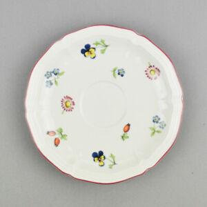 1 x Villeroy & Boch Petite Fleur - Untertasse - Porzellan - Ø 14,6cm
