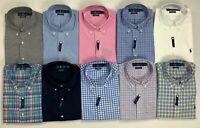 Men's Polo Ralph Lauren Classic Fit 100% Cotton Stretch Button-Front Dress Shirt