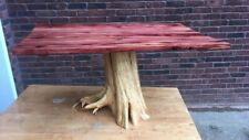 Live Edge Slab Table, Red Cedar Furniture, epoxy table, Live Edge table