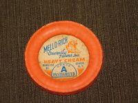 MILK BOTTLE CAP GENEVA INC DAIRY MELLO-RICH GUERNSEY FARMS NY