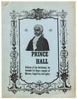 Cover title Prince Hall Veteran of the Revolution he founded 1st Negro 1st 1966