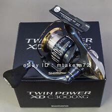 Shimano 17 TWIN POWER XD C3000XG, Spinning Reel Made In Japan, 037466