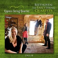 Cypress String Quartets - Beethoven The Early String Quartets Op 18 [CD]
