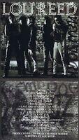 Lou Reed: New York Sein erfolgreiches Werk von 1989! 14 Songs! Neue Rhino-CD!