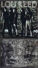 """Lou Reed """"New York"""" Sein erfolgreiches Werk von 1989 mit 14 Songs! Neue Rhino-CD"""