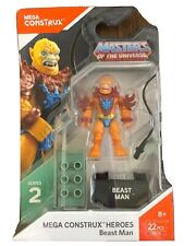 MEGA Construx Heroes Beast Man Masters Of The Universe ~ NEW Series 2