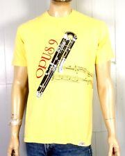 vtg 80s Crazy Shirts Hawaii Opus 9 Honolulu Symphony T-Shirt Bassoon Band Geek L