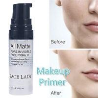 Face Primer Base Matte Foundation Gel Makeup Cream Invisible Pore Moisturizing