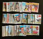 Huge+1969+Topps+Baseball+150+Card+Lot+with+Rookies+%26+Stars+