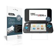 2x Nintendo 2DS XL Protector de Pantalla Vidrio Flexible Mate Proteccion 9H