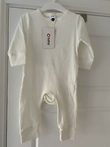 Baby Ribbed Romper Suit 6-9 Months BNWT