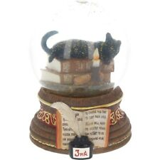 Gorgeous Lisa Parker Snowglobe Water Ball ~ Witching Hour ~  Cat ~ Nemesis Now
