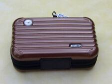Lufthansa First Class Rimowa Amenity Kit Beauty Case , Hellbraun NEU Versiegelt