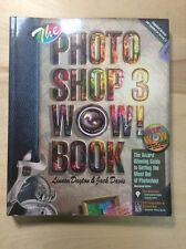 The Photoshop 3 Wow! Book Tips Tricks Techniques(1995,Softback) PreownedBook.com