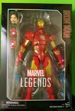 Marvel Legends Series 12 Inch Iron Man Action Figure EUC With Box