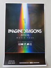 Imagine Dragons 2017 promo advert tour concert 11x17 poster tickets