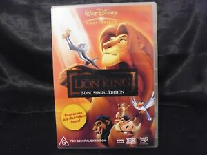 The Lion King 2 DISC SPECIAL EDITION - EXCELLENT CONDITION - R4