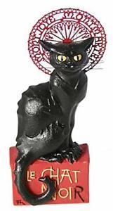 Le chat Noir - Théophile-Alexandre Steinlen Figurine