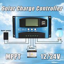 Solar Panel Regulator Charge Controller Auto Focus Tracking 40-100A 12V/24V MPPT