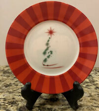 """Set Of 4 Boxed Holiday 6"""" Desert Plates"""