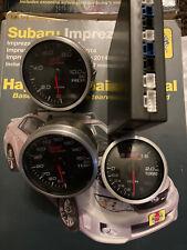 Defi Sti Genome Gauge Set 60mm Oil Temp Pressure 52mm Turbo Boost Gd Gc Sg Xt Gg