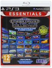 SEGA Mega Drive Ultimate Collection Game Essentials PS3 Brand New Free P&P UK