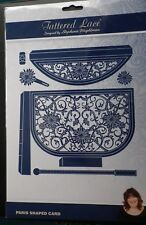 Tattered Lace Die Paris Handbag or Clutch Bag Shaped Card New Free P&P