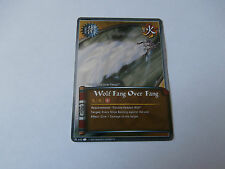 Carte Naruto Wolf Fang Over Fang foil !!!