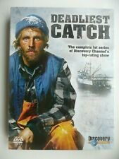 Deadliest Catch: First Series One 1st (DVD, 2007, 3-disc box set) New and Sealed